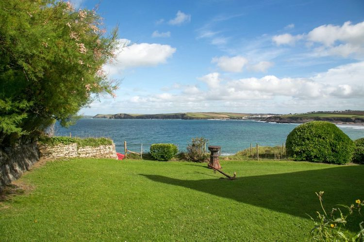 Harlyn Bay Cottage View
